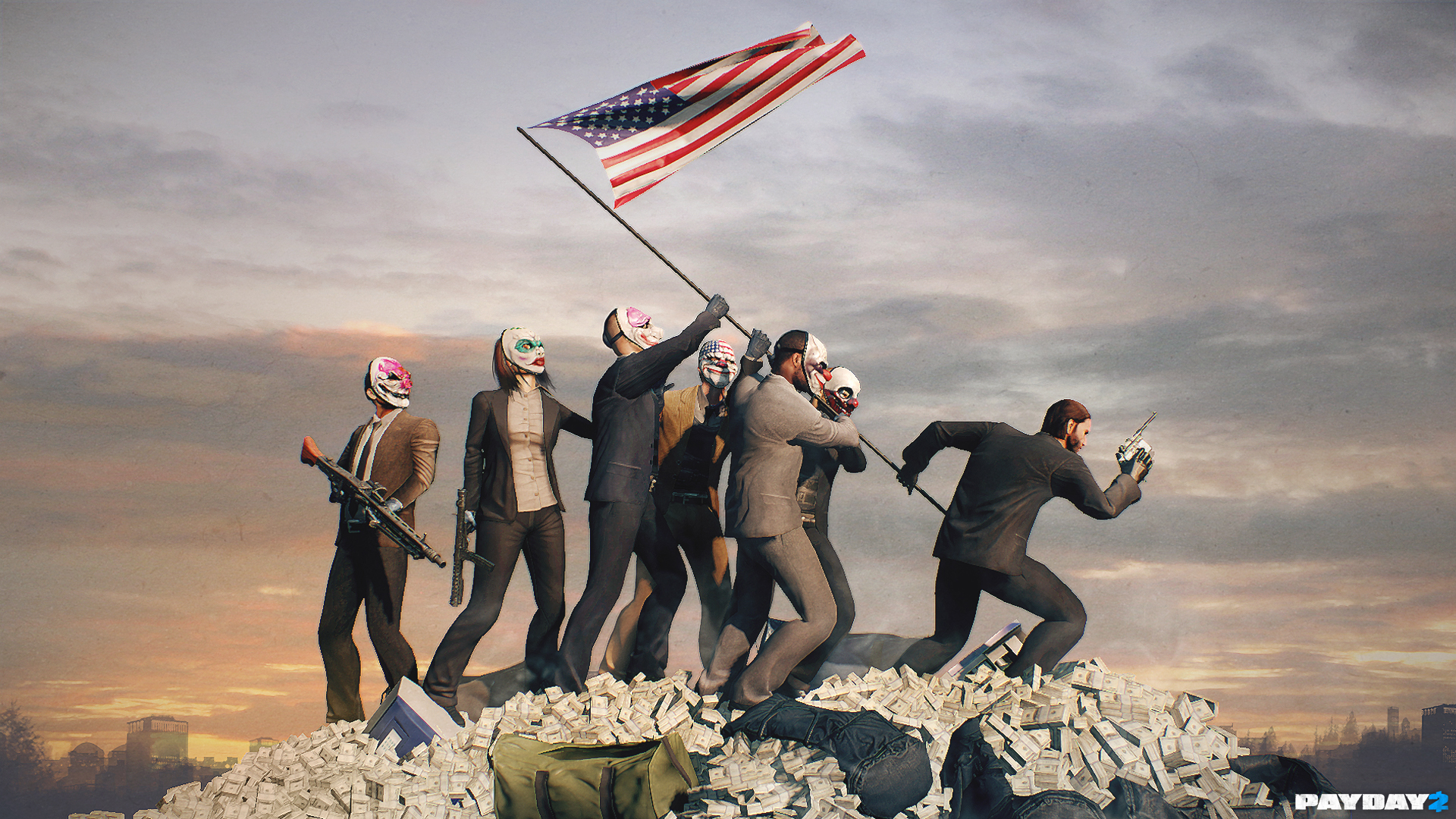 """The 12th DLC for PAYDAY 2, """"Gage Historical Pack"""", will ..."""