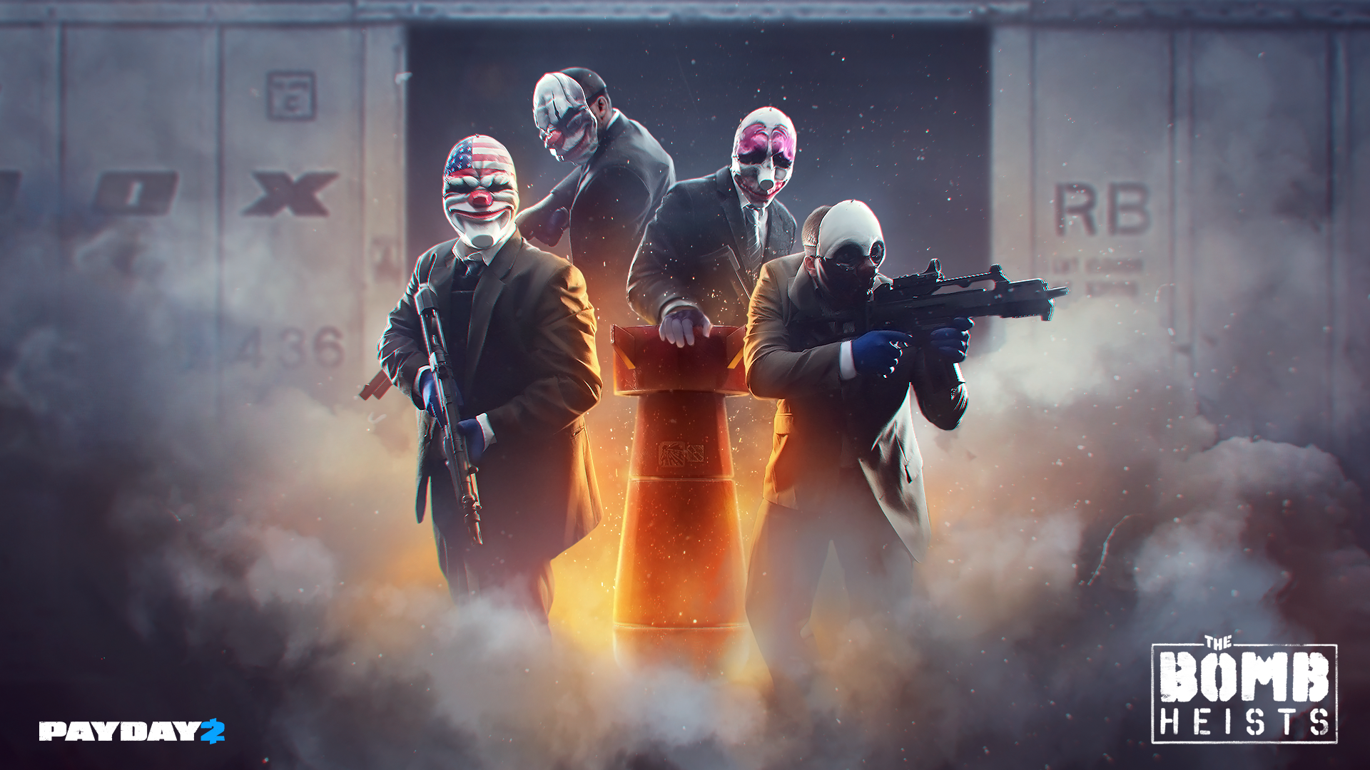 PAYDAY2: The Bomb Wallpaper