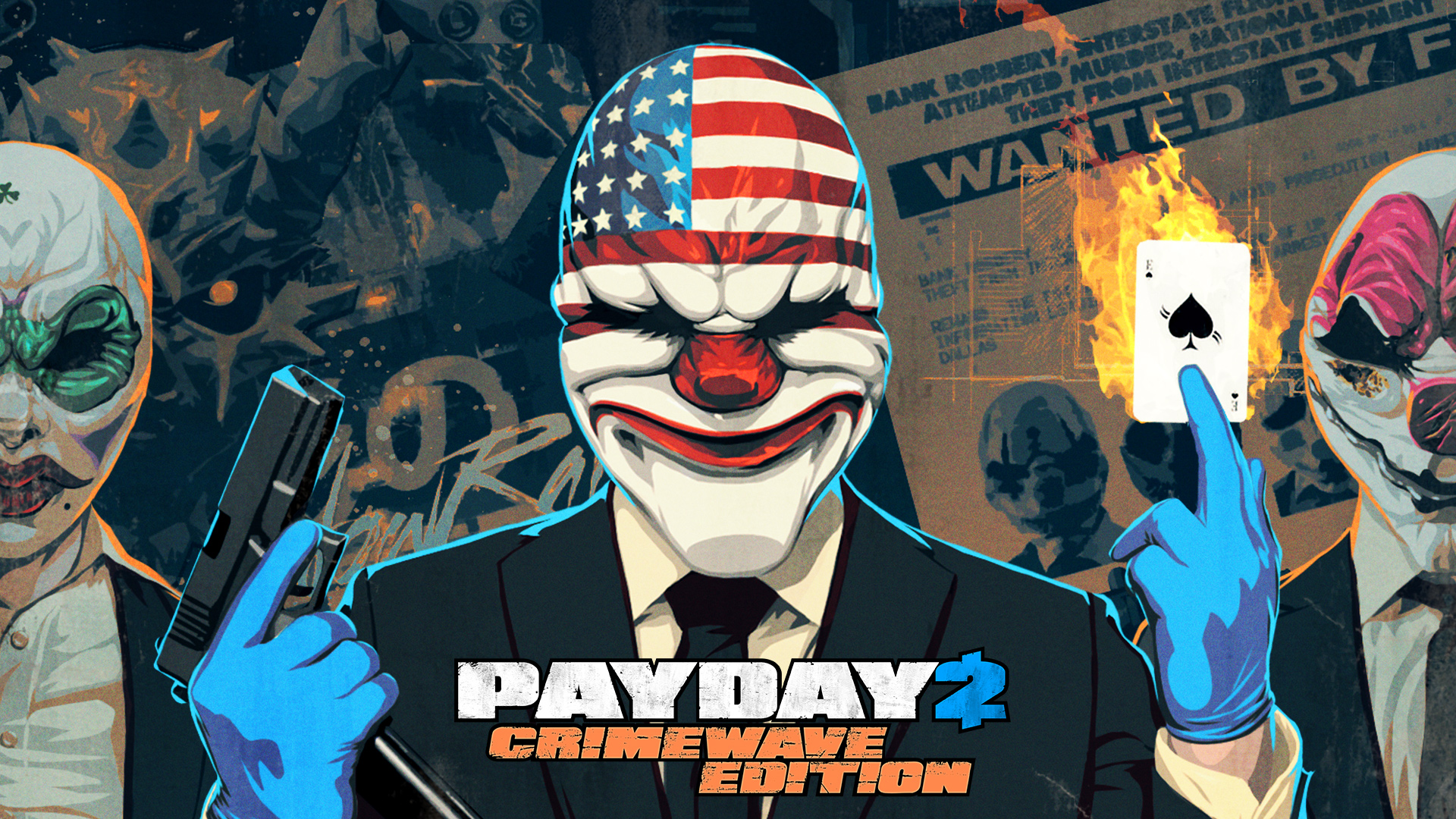 The Ultimate Heist Experience Launches On June 12 In EU 16 US With PAYDAY 2 Crimewave Edition
