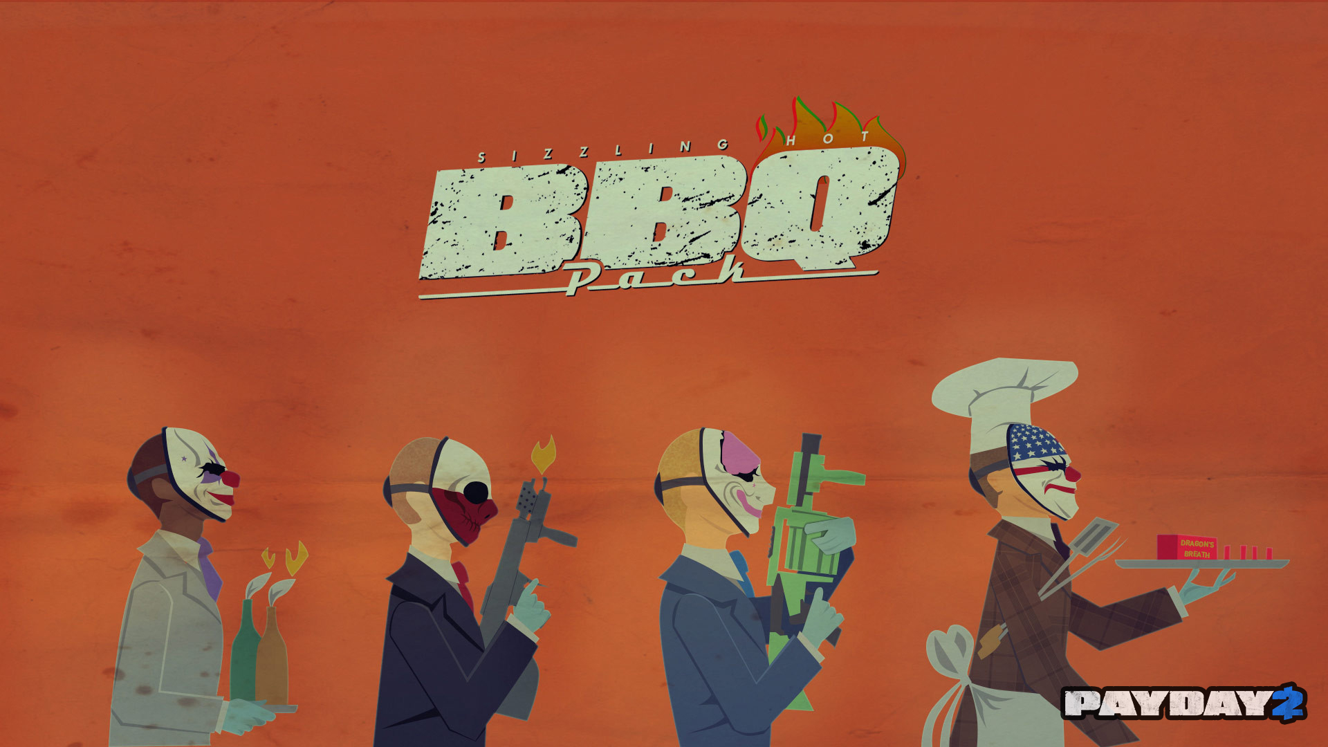 The BBQ Pack Desktop Wallpaper
