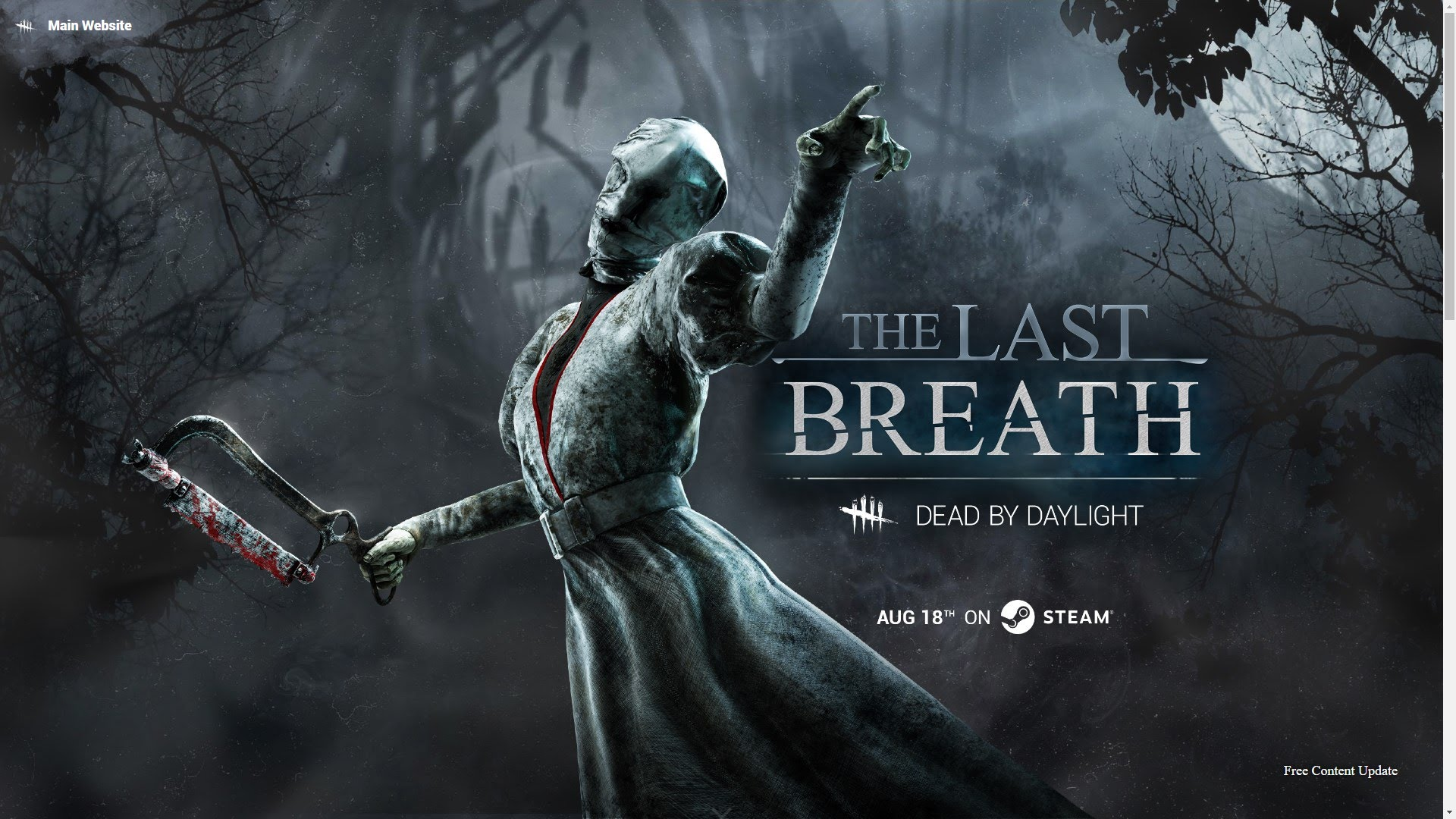 """Dead by Daylight chapter """"The Last Breath"""" now available on Steam"""