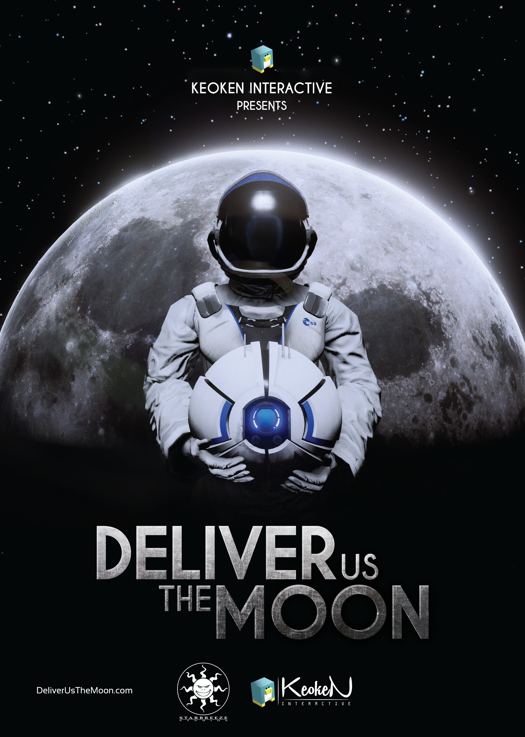 Deliver Us the Moon Poster