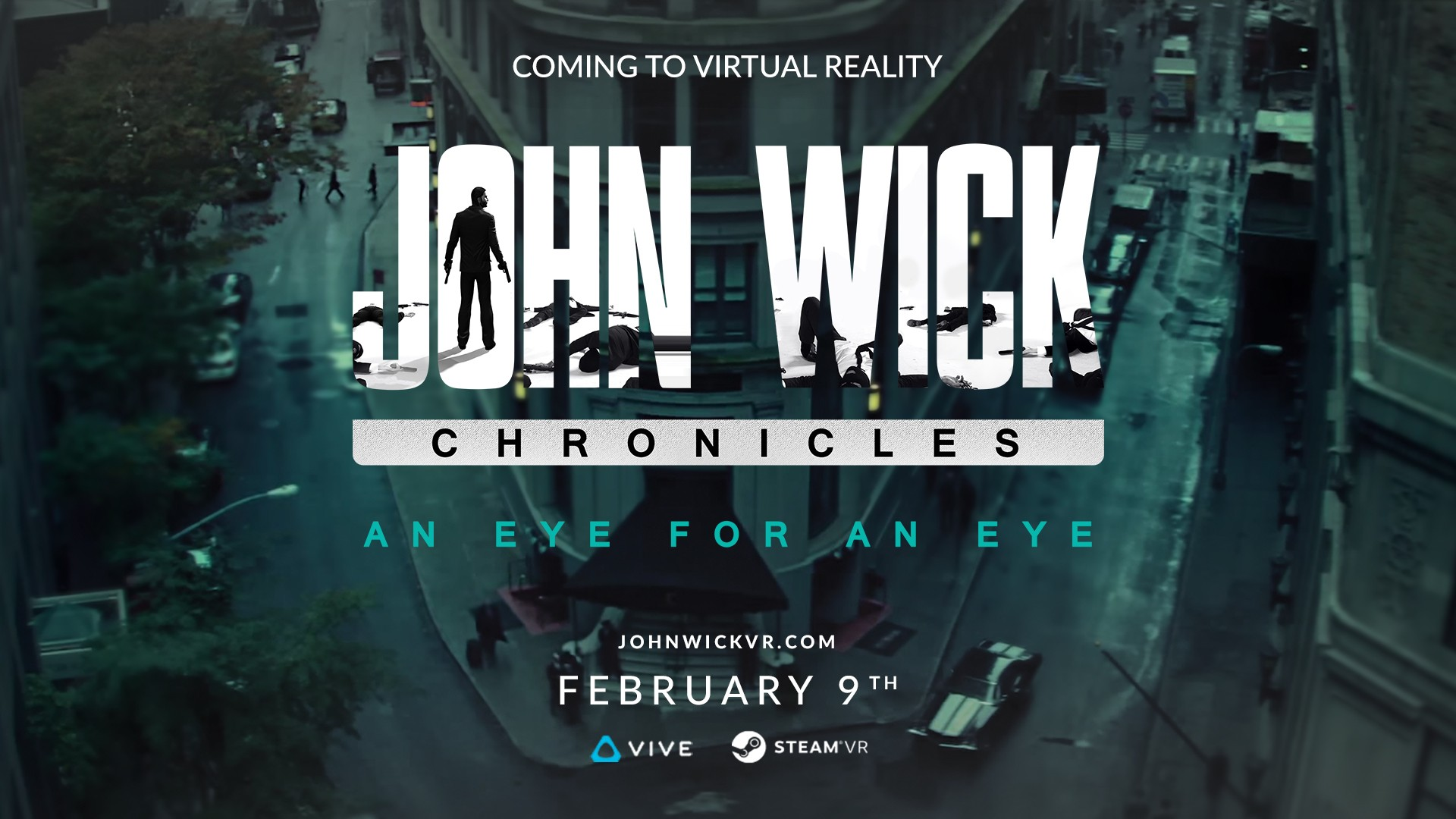 John Wick Chronicles Coming To Steam And HTC Vive On February 9