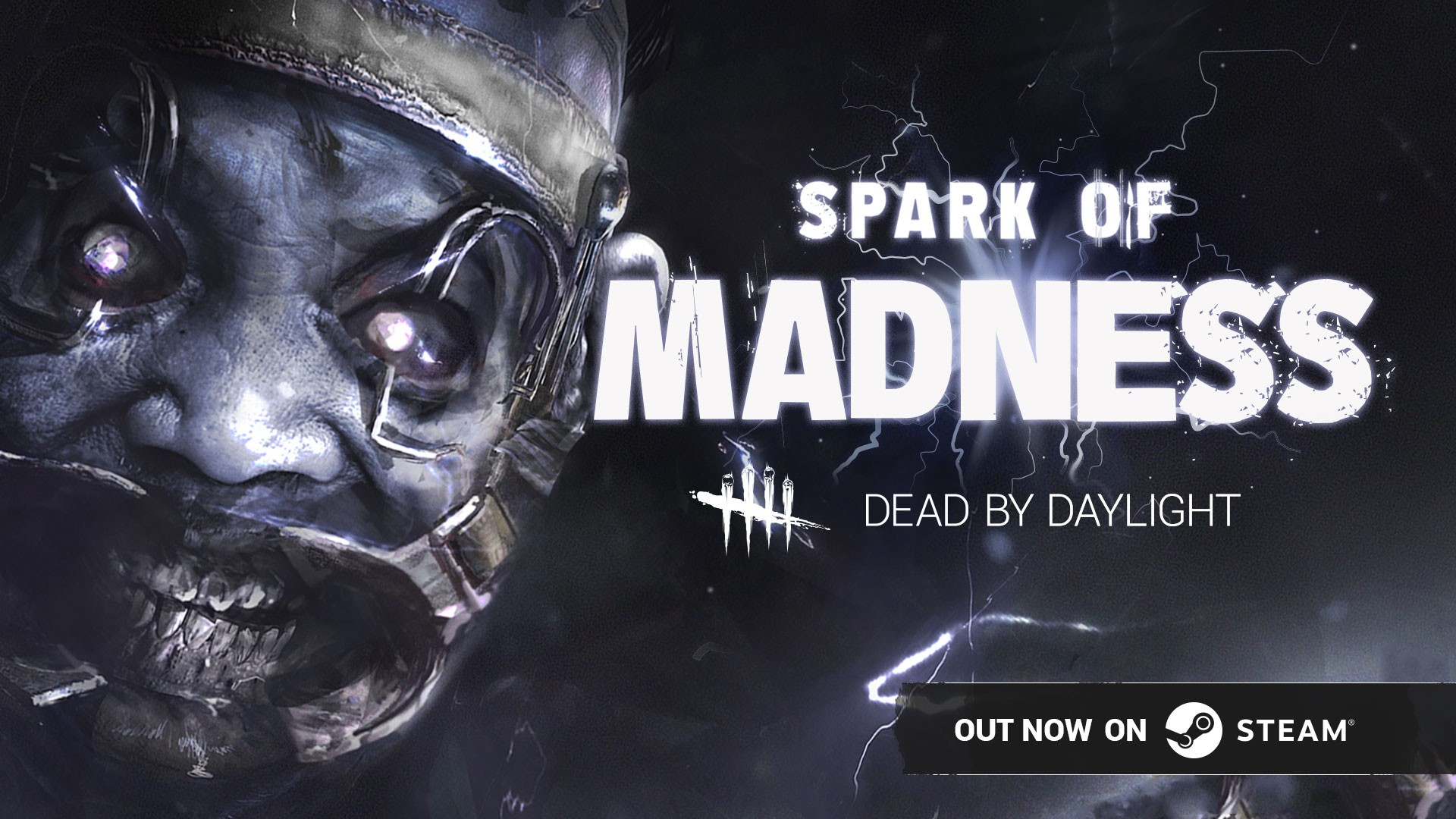 Dead by Daylight – New SPARK OF MADNESS Chapter out now on STEAM – introduces new Killer, Survivor and Map