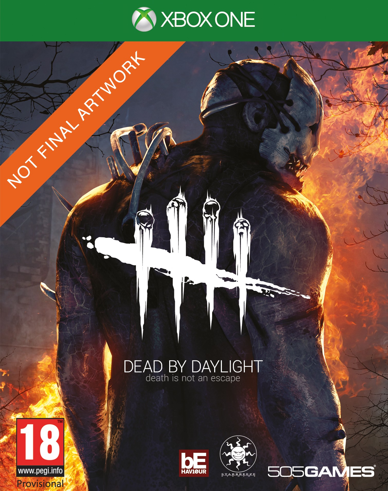 2D XB1 Dead by Daylight PEGI