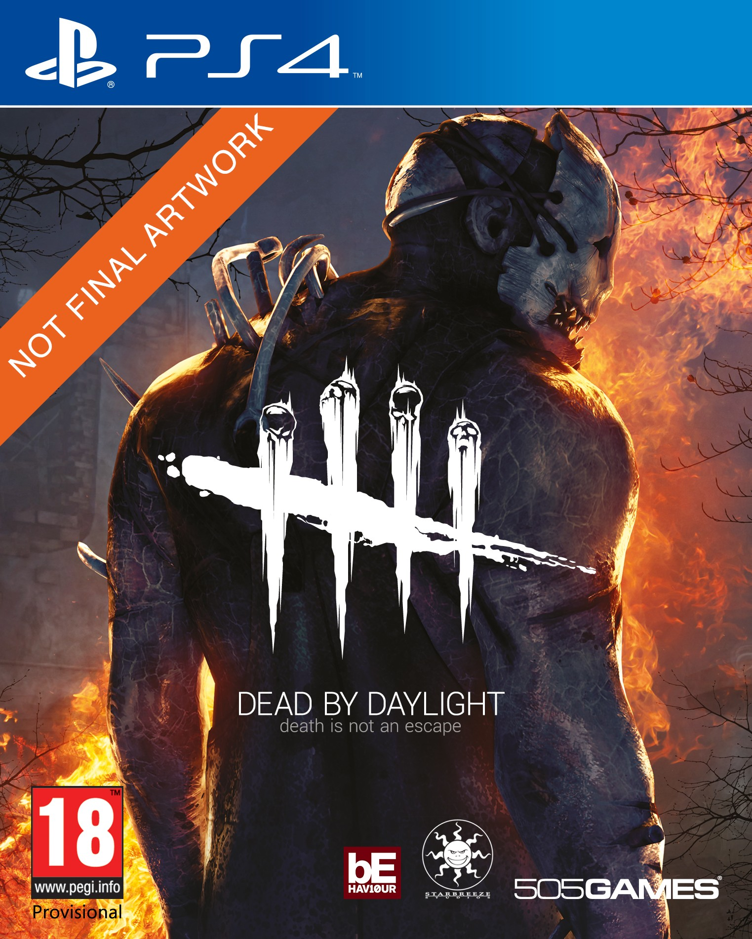 2D PS4 Dead by Daylight PEGI