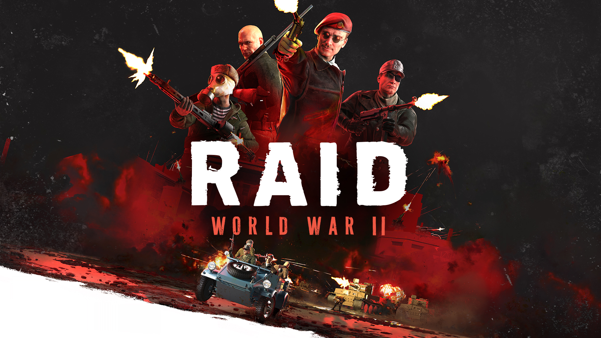 RAID World War II Available Today On Steam For Windows PC