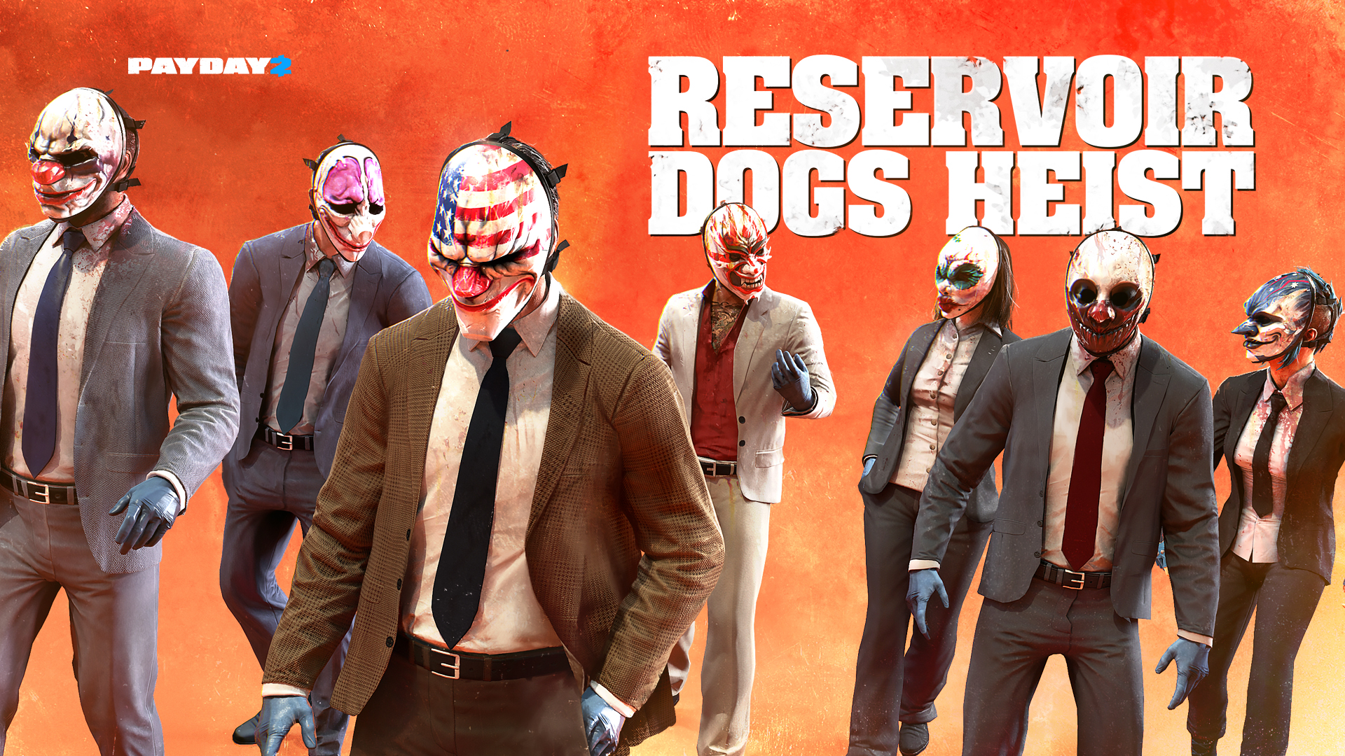 PAYDAY 2: RESERVOIR DOGS HEIST 1920x1080